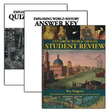 Notgrass Exploring World History Student Review - Quiz & Exam Pack 2014 Edition