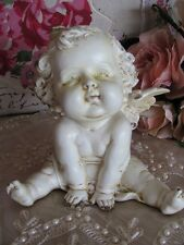 Adorable Resin Baby Cherub Angel Statues Ornament  Figurine 1