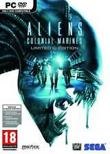 Aliens Colonial Marines Limited Edition - PC DVD - Brand New and Factory Sealed