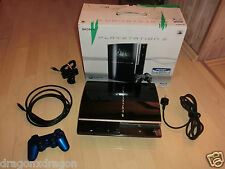 Sony PlayStation 3 PS3 80GB in OVP, Kamera, Wireless Contr. Blau, 1J. Garantie