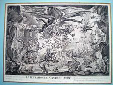 Jaques Callot. Die Versuchung des Hl. Antonius. La Tentation de St. Antoine Abbe