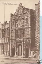 Norfolk Postcard - Kings Lynn - The Council Hall   Q694