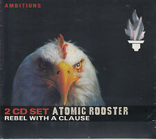 ATOMIC ROOSTER rebel with a clause Digipack 2CD NEU OVP