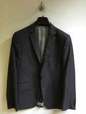 "Peter Werth Striped Suit Jacket/Charcoal - Medium '3' (38/40"")"