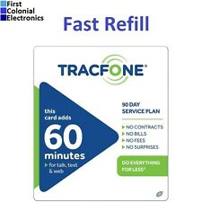 TracFone $19.99 Refill -- 60 Minutes / 90 Days