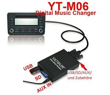 USB SD Adapter MP3 CD Wechsler Mercedes Exquisit Special