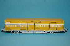 Creanorm (Busch) 100050110 Post Container load car Swiss post AAE O Gauge NEW
