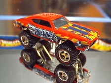 2016 HOT WHEELS SPECIAL CUSTOM OLDS 442 W-30 Red Monster Truck with REAL RIDERS