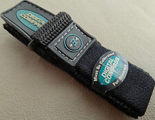 Mens 16-20mm Black Nylon Sport Timex Expedition Digital Compass Watch Band