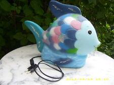 Regenbogenfisch - Lampe - Figur Leuchte - Kinderlampe - Schlummerlicht