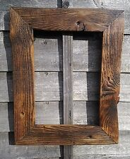 Rustic Reclaimed Jacobine Wood Driftwood Picture Canvas Photo Frame Shabby Chic
