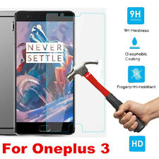 For Oneplus 3 100% Genuine 9H+ Real Tempered Glass Screen Film Protector Film