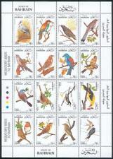 Bahrain 1992 ** Mi.451/66 Klbg. Vögel Birds Oiseaux