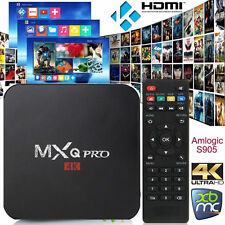 MXQ Pro Android 6.0 Smart TV Box Quad Core XMBC Kodi Fully Loaded 16.1 4k S905X
