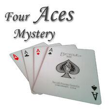 (129101) FOUR ACES MYSTERY, Zaubertricks zaubern Kartentrick
