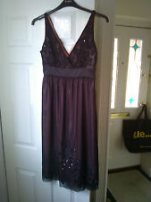 BNWOT BLACK PINK 'BELLE' BY OASIS PARTY FORMAL PROM DRESS SIZE 10