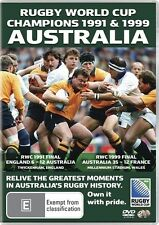 Rugby World Cup Champions - Australia 1991 & 1999 .2 X DISCS...NEW & SEALED