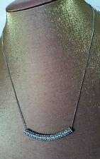 ♡ BNWT OROTON SIGNATURE MON PETIT RHODIUM Choker Necklace Collar R.R.P $ 165.00