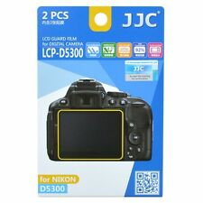 JJC LCP-D5300 LCD Screen Protector Guard Film Cover for Nikon D5300 D5500 Camera