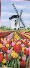 Anchor Counted Cross Stitch Kit PCE0806 Dutch Tulips Landscape