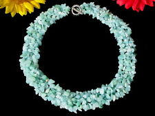 Beautiful Chain Necklace Amazonite 47cm Long New