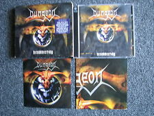 Dungeon-Resurrection CD-2 CDs-Poster + Sticker-2005 Germany-Heavy Metal-SPV