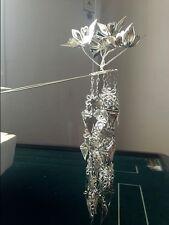 100%Handmade Miao Silver Tassel Flowers Woman Hairpin Headdress W131