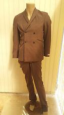 BNWT AQUASCUTUM BROWN SUIT 38R rrp £850