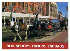 Blackpool Famous Landaus Photo Postcard Unused Unposted New
