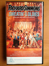 RICHARD SIMMONS ~ SWEATIN' TO THE OLDIES ~ VHS VIDEO