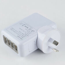 4 USB Port Wall Charger AC Adapter AU Plug for iPhone 6s Samsung LG HTC Huawei