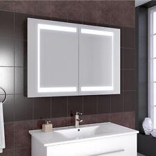 80cm Badezimmer Spiegelschrank LED Steckdose innen Spiegel Badschrank Badmöbel