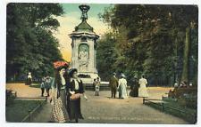 Berlin - Tiergarten, am Komponistendenkmal ungel. 1910