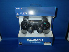 New Black Wireless Bluetooth Controller for PS3 Third Part Made