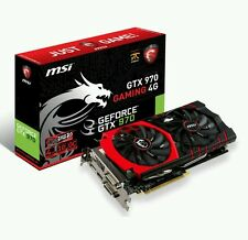 4GB MSI GTX 970 GAMING Twin Frozr V PCIe 3.0 (x16) 7010MHz GDDR5 GPU  HDMI