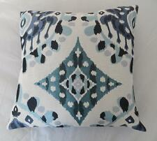 Gorgeous Blues Textured 45cm Cushion Cover Home Decor