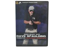 MAKE READY WITH DAVE SPAULDING DVD Combative Pistolcraft Essentials Panteao NEW!