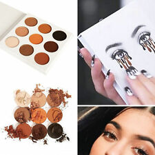 Fashion Makeup Matte Kit Eyeshadow Palette In Bronze Cosmetics 9 Colors Set Kit