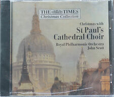 Christmas with St Pauls Cathedral Choir RPO Scott Times Carlton 13 Tracks 59 Min