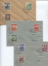 Deutsches Reich 751-759 gestempelt (vfs) auf FDC  (B05303)