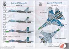 HAD Models Sukhoi Su-27 Flanker B Pt.1 1/48 decals