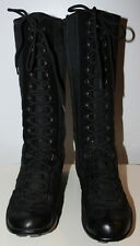 Fornarina black moto sport boots women Eur 39 US-Aus 8 UK 6 Used from Italy