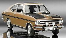 1:18 REVELL - 1969 OPEL KADETT B RALLYE 1900 - golden