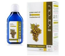 IKAROV 100% Pure Natural Essential GRAPE SEED OIL 55ml - Oily / Combination Skin
