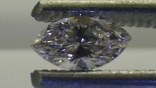 IGI Cert 0.24ct MARQUISE diamond NATURAL LIGHT ORANGEY PINK  VVS2