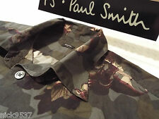"""PAUL SMITH Mens Shirt �� Size S (CHEST 40"""") �� RRP £95+ �� ABSTRACT FLORAL"""