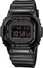 Casio G-Shock Funkuhr Solaruhr Digitaluhr schwarz glänzend