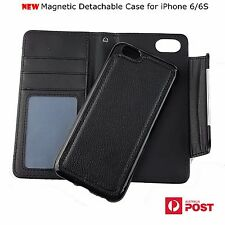 Magnetic Detachable Wallet Leather Case Removable Cover For iPhone 6/6S 4.7''