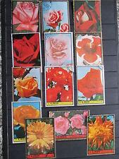 Briefmarken Motiv Blumen- Rosen  gest