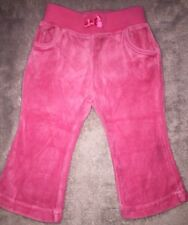 CARTER'S Pink Velour Trackpants EUC+ 9 Months Size 0. 10 Items = $5 Post